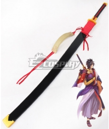 Tales of Berseria Rokurou Rangetsu Sword Cosplay Weapon Prop - No Blade