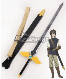 Maoyu Archenemy and Hero Yusha Sword Cosplay Weapon Prop