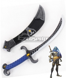 Overwatch OW Genji Shimada Bedouin Short sword Cosplay Weapon Prop