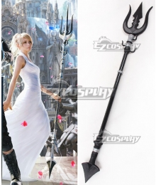 Final Fantasy XV FFXV Lunafreya Nox Fleuret Spear Cosplay Weapon Prop - A Edition