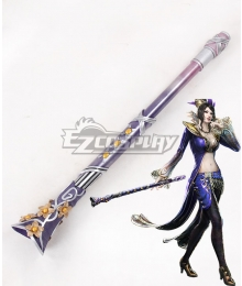 Dynasty Warriors 6 Lady Zhen Ji Flute Cosplay Weapon Prop