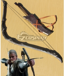 The Lord of the Rings Legolas Bow and arrow Cosplay Weapon Prop