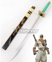 Overwatch OW Genji Shimada Young Long sword B Cosplay Weapon Prop
