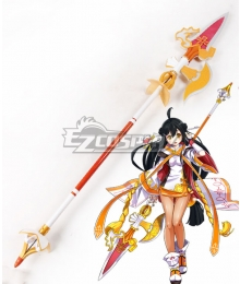 Elsword Ara Sakra Devanam Spear Cosplay Weapon Prop