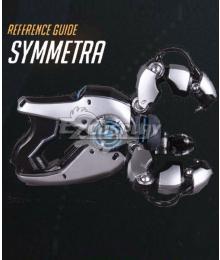 Overwatch OW Symmetra Satya Vaswani Gun Cosplay Weapon Prop
