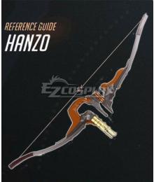 Overwatch OW Hanzo Shimada Young Hanzo Bow Cosplay Weapon Prop