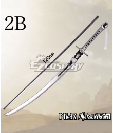 NieR: Automata 2B YoRHa No.2 Type B Small Sword Cosplay Weapon Prop