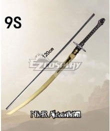 NieR: Automata 9S YoRHa No.9 Type S Small Sword Cosplay Weapon Prop