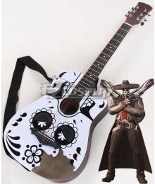 Overwatch OW Reaper Gabriel Reyes Mariachi Guitar Cosplay Weapon Prop