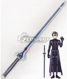Sword Art Online Ordinal Scale Eiji Movie Sword Cosplay Blue Weapon Prop