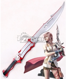 Final Fantasy XIII FF13 Lightning Sword Cosplay Weapon Prop - A Edition