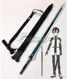 Sword Art Online Ordinal Scale Kirigaya Kazuto Kirito Movie Sword Scabbard Cosplay Weapon Prop