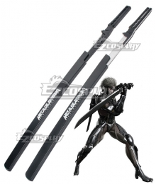 Metal Gear Rising: Revengeance Raiden Sword Silver/Black Cosplay Weapon Prop