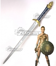 DC Wonder Woman Diana Prince Sword Cosplay Weapon Prop