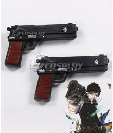 Blue Exorcist Kyoto Saga Yukio Okumura Two Guns Cosplay Weapon Prop
