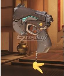 Overwatch OW D.Va DVa Hana Song Carbon Fiber Gun Cosplay Weapon Prop