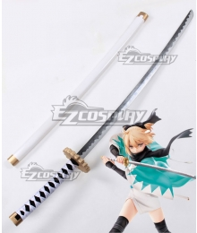 Fate Grand Order Saber Altria Pendragon King Arthur Okita Souji Sword Cosplay Weapon Prop