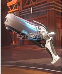 Overwatch OW Reaper Gabriel Reyes Shiver Two Guns Cosplay Weapon Prop