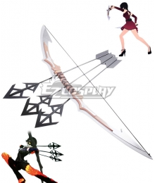 RWBY Cinder Fall Three Arrows Two Swords Cosplay Weapon Prop