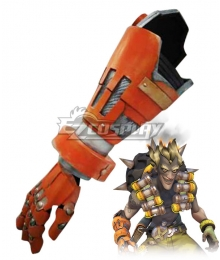 Overwatch OW Junkrat Jamison Fawkes Greaves Cosplay Weapon Prop