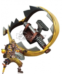 Overwatch OW Junkrat Jamison Fawkes Trap Cosplay Weapon Prop