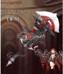 SINoALICE Little Red Riding Hood Crusher Sword Cosplay Weapon Prop