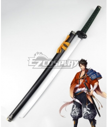 Katsugeki Touken Ranbu Mutsunokami Yoshiyuki Sword Cosplay Weapon Prop