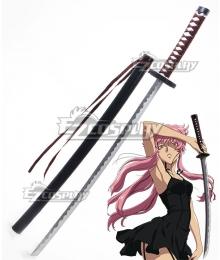 Mirai Nikki Future Diary Yuno Gasai Sword Scabbard Cosplay Weapon Prop