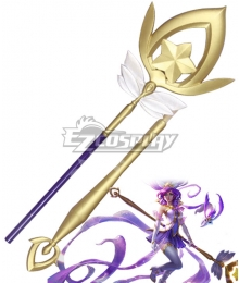 League of Legends LOL Star Guardian Janna Wand Cosplay Weapon Prop