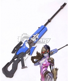 Overwatch OW Widowmaker Amelie Lacroix Gun Cosplay Weapon Prop - A Edition