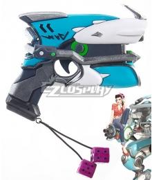 Overwatch OW D.Va DVa Hana Song Cruiser Light Gun Cosplay Weapon Prop