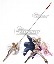 Fire Emblem Heroes Sharena Spear Cosplay Weapon Prop
