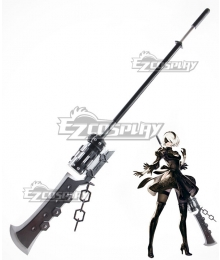NieR: Automata 2B 9S YoRHa No.2 Type B YoRHa No.9 Type S Type-3 Lance Spear Cosplay Weapon Prop