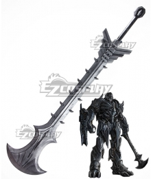 Transformers: The Last Knight Megatron Sword Cosplay Weapon Prop