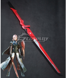 Final Fantasy XIII Lightning Returns Equilibrium Lightning Eclair Farron Sword Cosplay Weapon Prop - A Edition