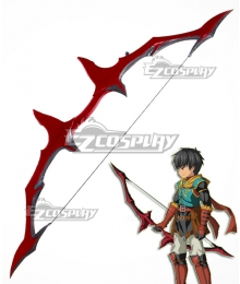 Fate Grand Order Archer Arash Bow Cosplay Weapon Prop