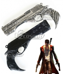 DmC Devil May Cry 5 Dante Two Guns Cosplay Weapon Prop