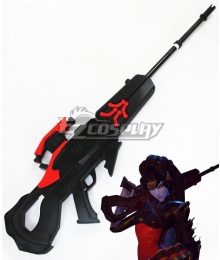 Overwatch OW Widowmaker Amelie Lacroix Black Sniper Gun Cosplay Weapon Prop