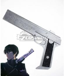 Mahouka Koukou no Rettousei The Irregular at Magic High School Shiba Tatsuya Gun B Cosplay Weapon Prop