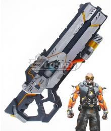 Overwatch OW Soldier 76 John Jack Morrison Cyborg: 76 Gun Cosplay Weapon Prop
