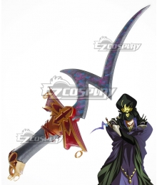 Fate Stay Night Caster Medea Rule Breaker Dagger Cosplay Weapon Prop