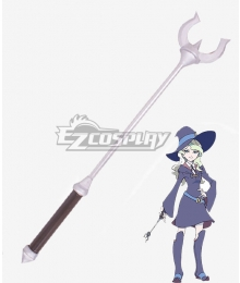 Little Witch Academia Atsuko Kagari Sucy Manbavaran Diana Cavendish Amanda O'Neill Staves Cosplay Weapon Prop - B Edition