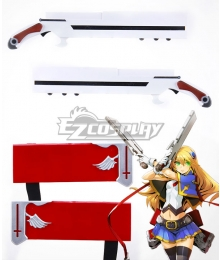 BlazBlue Noel Vermillion Demon Guns Bolverk Two Guns Cosplay Weapon Prop