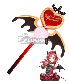 Love Live! Lovelive! Maki Nishikino Hanayo Koizumi Halloween Little Devil Ver. Love Stave Cosplay Weapon Prop