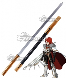 Fate Grand Order Archer Tristan Sword Scabbard Cosplay Weapon Prop