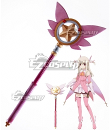 Fate Kaleid Liner Prisma Illya Illyasviel von Einzbern Magical Ruby Staves Cosplay Weapon Prop