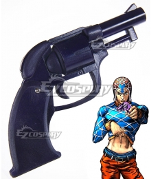 JoJo's Bizarre Adventure Vento Aureo Guido Mista Gun Cosplay Weapon Prop