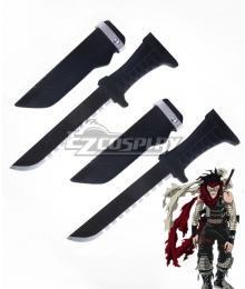 My Hero Academia Boku no Hero Akademia Chizome Akaguro Hero Killer Stain Two Daggers Cosplay Weapon Prop