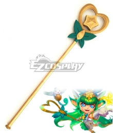 League of Legends LOL Star Guardian Lulu Staff Cosplay Weapon Prop