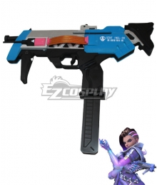 Overwatch OW Sombra Gun Cosplay Weapon Prop